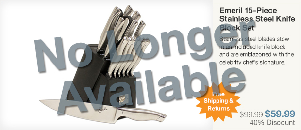Stainless Steel Knife Set